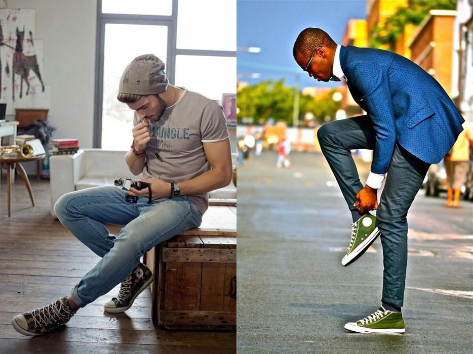 урона с чем носить высокие кеды мужчинам фото сингл