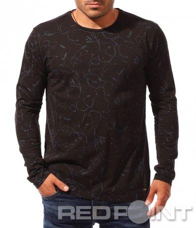 Клубна блуза с дълъг ръкав 8318