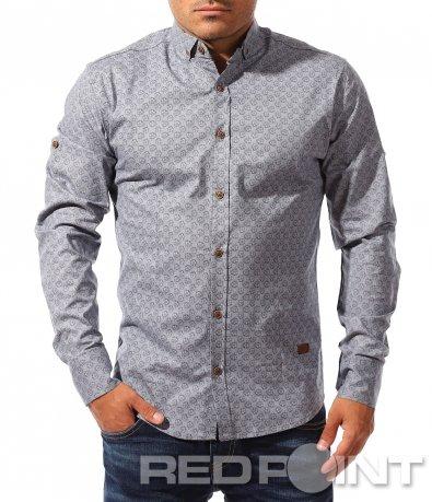 Спортно-елегантна риза с мотиви 8328