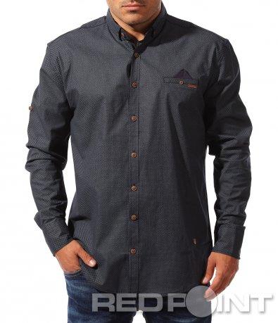 Стилна риза с фигури и орнаменти 8334