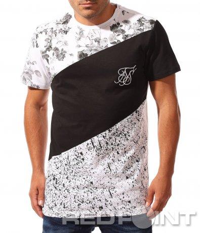 Ефектна тениска с къс ръкав 8326
