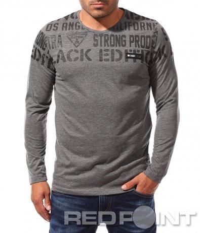 Есенна тениска с дълъг ръкав 8343