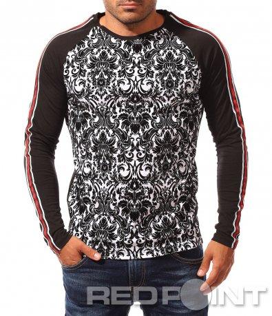Стилна блуза с орнаменти 8346