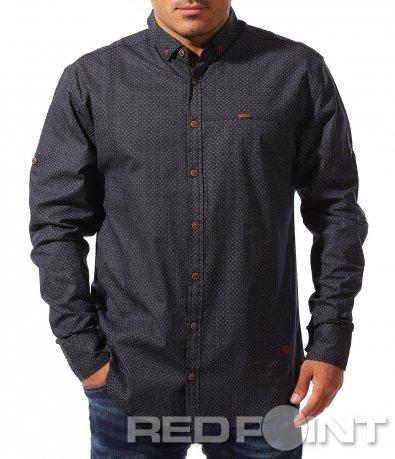 Ефектна риза с дълъг ръкав 8335