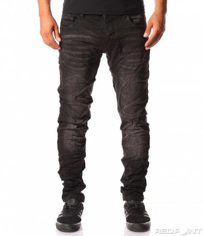 Еластични черни дънки 8394