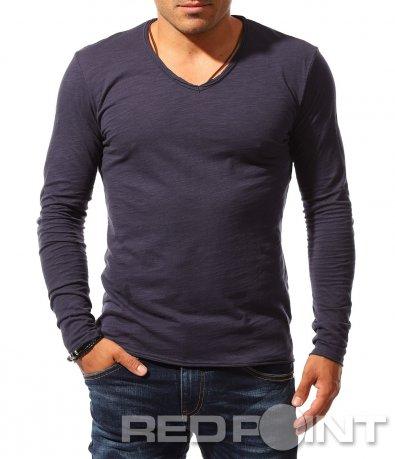 Тънка есенна блуза 8401