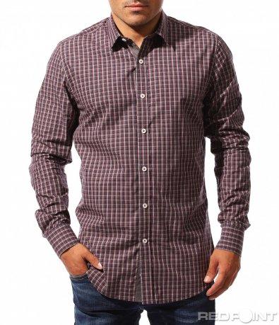 Ежедневна карирана риза 8402