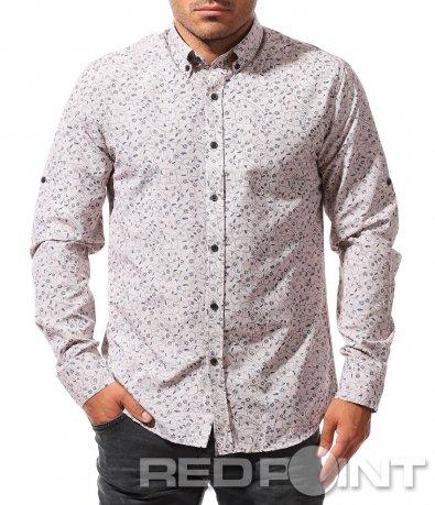 Бежова риза с орнаменти 8414