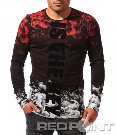 Стилна есенна блуза 8445