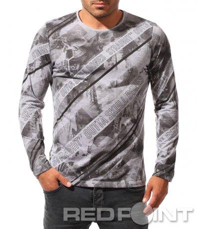 Впечатляваща блуза с дълъг ръкав 8451