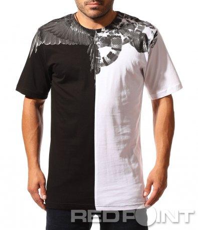 Тениска с long fit кройка 8495