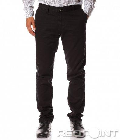 Официален черен панталон 8521