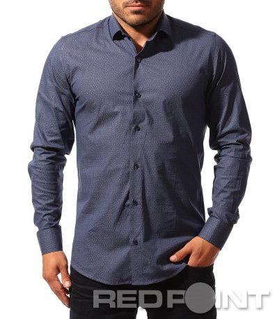 Класическа риза с декоративни мотиви 8523