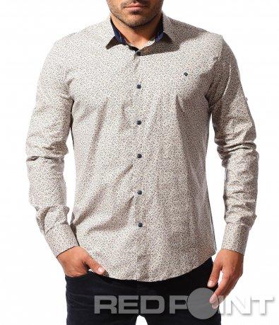 Атрактивна риза с ефектен принт 8524