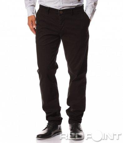 Черен спортно елегантен панталон 8538