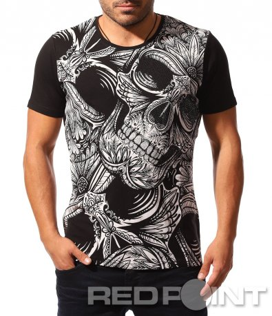 Тениска с атрактивен принт 8539