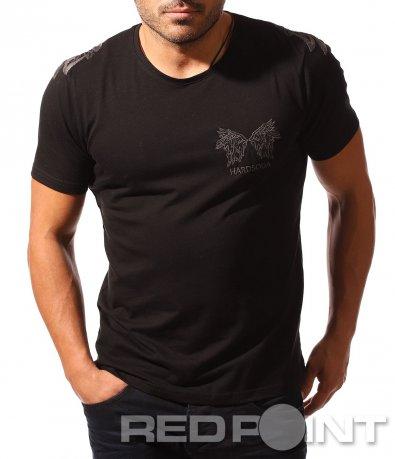 Ексцентрична тениска с щампа 8540