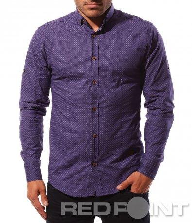 Риза в свеж лилав цвят 8584