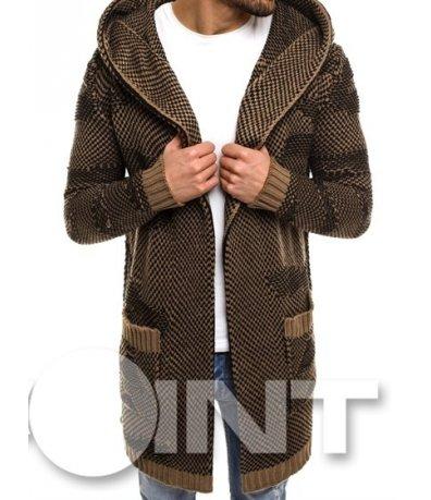 Интересен модел плетена жилетка 8603