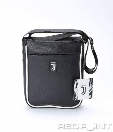 Малка черна чанта с лого 8614
