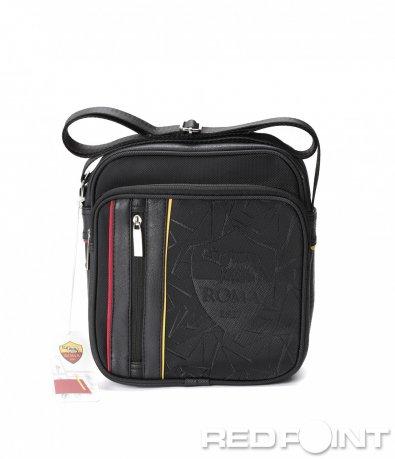 Кожена чанта с лого Roma 8616