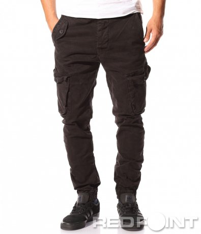 Черен карго панталон 8618