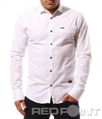 Елегантна риза с капси 8632