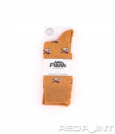 Дълги чорапи с принт мелница 8654
