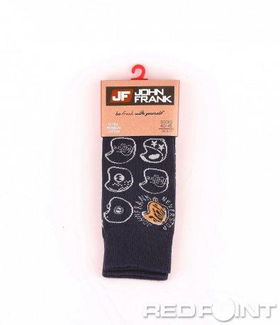 Дълги чорапи с принт 8662