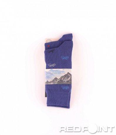 Дълги чорапи с принт на мотиви 8667