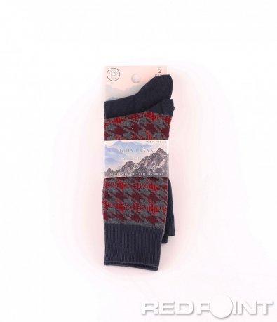 Дълги чорапи с принт 2бр 8670