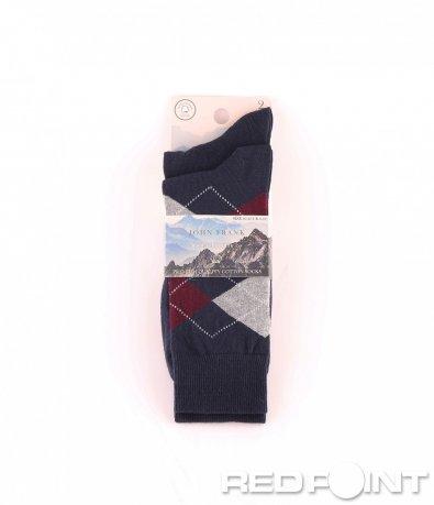Дълги чорапи с принт на фигури 8672
