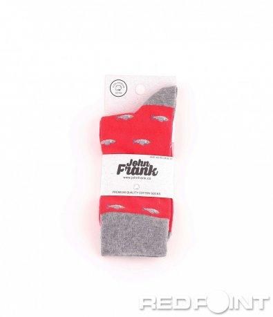 Дълги чорапи с принт fish 8674