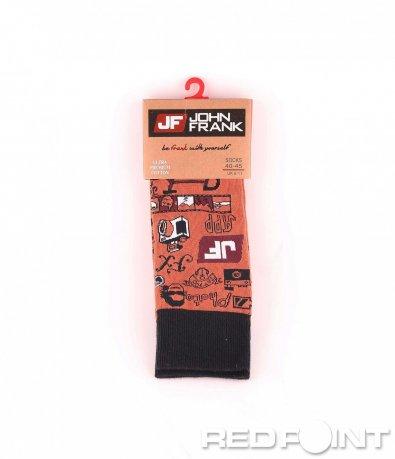 Дълги чорапи с принт camera 8678
