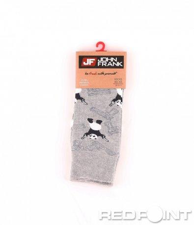 Дълги чорапи с принт панда 8681