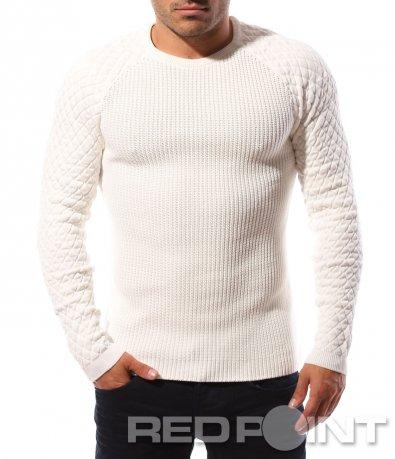 Еластична блуза с реглан ръкав 8689
