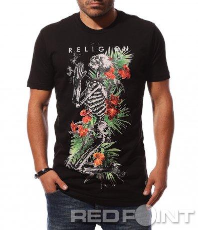 Атрактивна тениска с щампа 8705