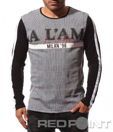Неповторима тениска с принт 8713