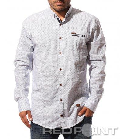 Мъжка риза с големи размери 8720
