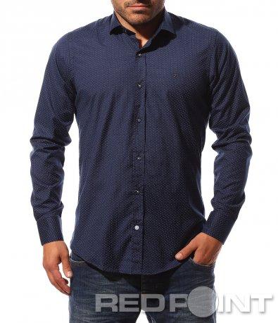 Изискана риза в slim линия 8723
