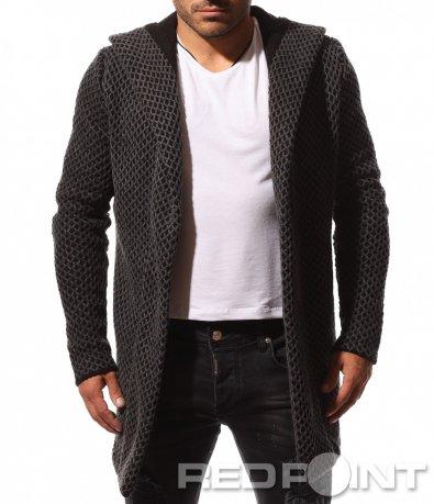 Класна плетена жилетка 8735