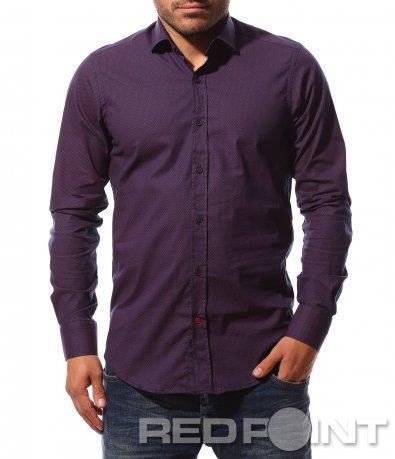 Елегантна риза в стилен десен 8742