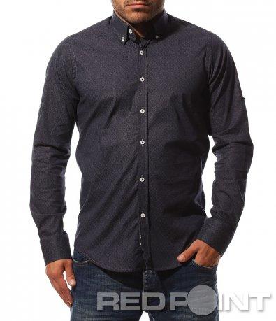 Актуална риза с дълъг ръкав 8743