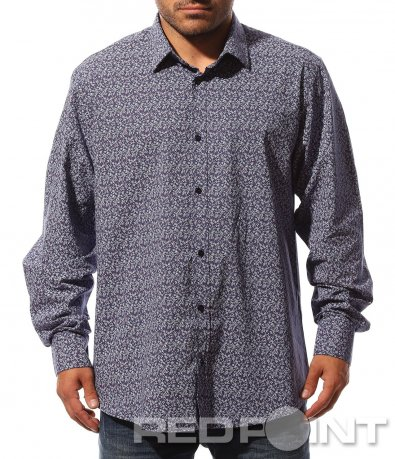 Спортно-елегантна риза в лилаво 8746