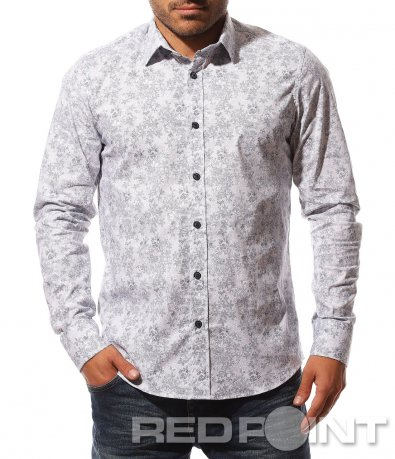 Удивителен модел вталена риза 8749