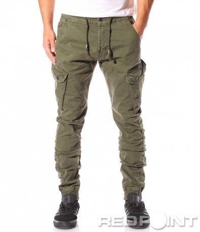 Фешън панталон със странични джобове 8751