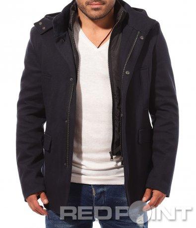 Късо спортно елегантно палто 8754