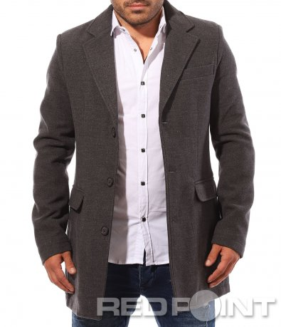 Елегантно мъжко палто 8757