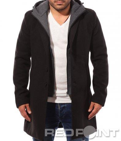 Дълго ефектно палто 8759