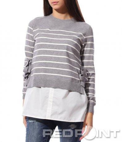 Интересна блуза с панделки 8763